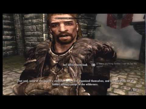 Skyrim | The Stormcloak Rebellion Ending |