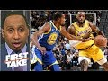 nba stars want to beat lebron, not play with him – stephen a.   first take