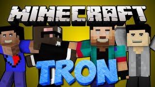 NEW Minecraft TRON Minigame Server Mod