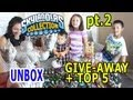 Skylanders Collection pt.2 - Glitter HH Unboxed + Contest + Top 5 Skylanders