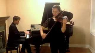 John Legend All of Me, Violin and Piano Cover