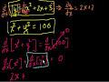Фрагмент с начала видео - Implicit Differentiation