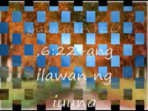tanging alay ko sayo aking ama