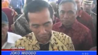 <span>Presiden Berdialog Gengan Korban Lumur</span>