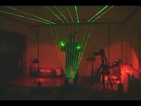 Laser Harp Fully Functional
