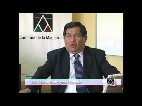 Tecnicas Litigacion Oral - Dr Mario Rodriguez Hurtado