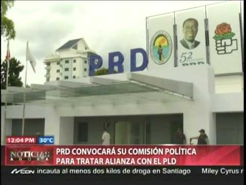 Comisión Política del PRD discutirá alianza PLD la próxima semana