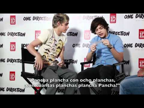 Harry Styles y Niall Horan de One Direction cumplen nuestros retos revista Tu Mexico
