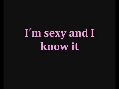 LMFAO - Sexy and I know it ( Lyrics )