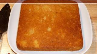 Eggless Pineapple Cake..