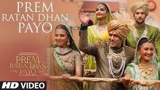 Prem Ratan Dhan Payo VIDEO Song