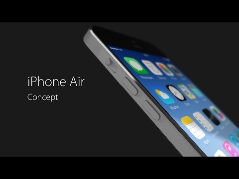 iPhone Air Concept 2014