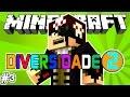 REI DO PARKOUR VOLTOU! - Diversidade 2: Minecraft #3