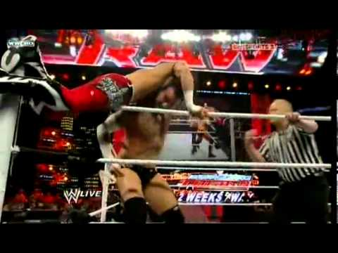 WWE RAW 11/10.2010  - CM Punk Debuts on RAW vs Evan Bourne and Destroys him