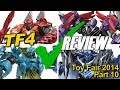 Toy Fair 2014 Part 10 - Transformers AOE Shopping List - [TF4 News #101]