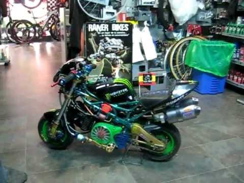 mini moto pocket bike youtube