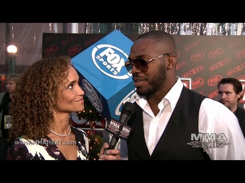 Champ Jon Jones Talks Lyoto Machida Fight + MMA Going Mainsteam on UFC on FOX Red Carpet