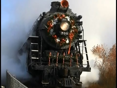 HD Christmas Train Movie (two hours)