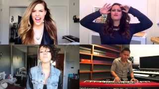 Ellie Goulding - Love Me Like You Do (3 Girls & 1 Guy Cover)