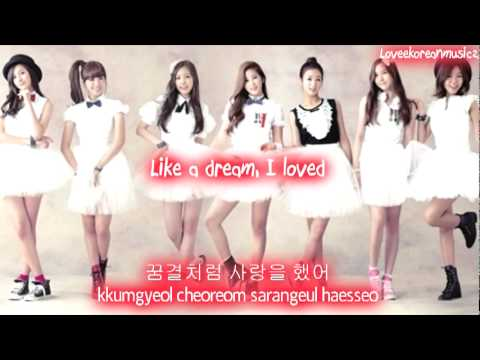 A Pink - Like A Dream [Eng Sub + Romanization + Hangul] HD