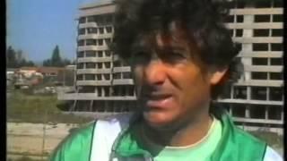Reportagem do primeiro treino de Manuel José em 1988/1989