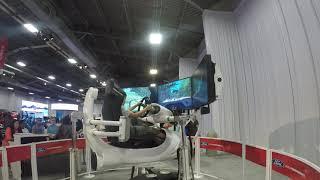 2018 Texas Auto Show Race Car Simulator