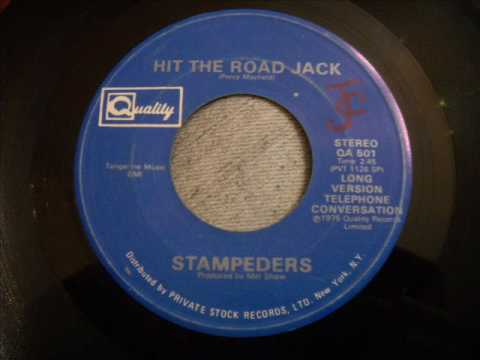 Stampeders - Hit The Road Jack featuring Wolfman Jack