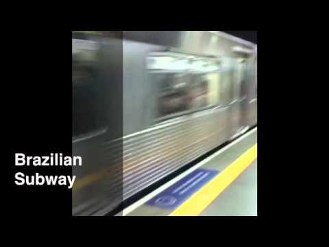 Sao Paulo Brazil Subway