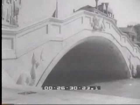 """1937. Venezia, inaugurata la """"Riva dell'Impero"""""""