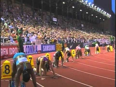 Women's 200 Meters, Diamond League, Stockholm, Sweden, 06th August 2010