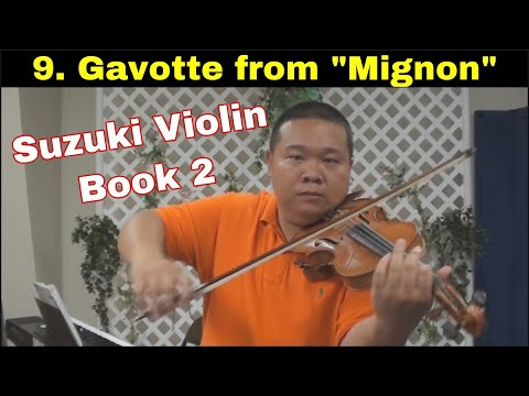 Suzuki Violin School - Book 2 - Gavotte from Mignon