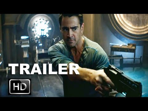 Total Recall 2012 Official Trailer [HD]: Colin Farrell Recalls His Dangerous Past: ENTV