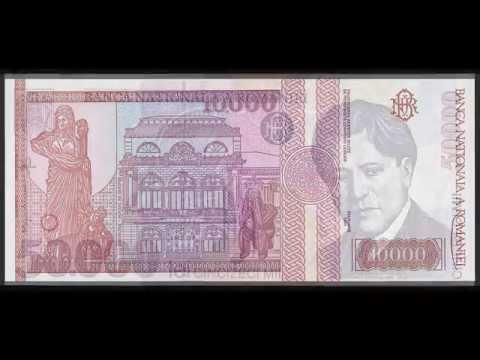 Bancnote vechi Romanesti 1991 - 1999