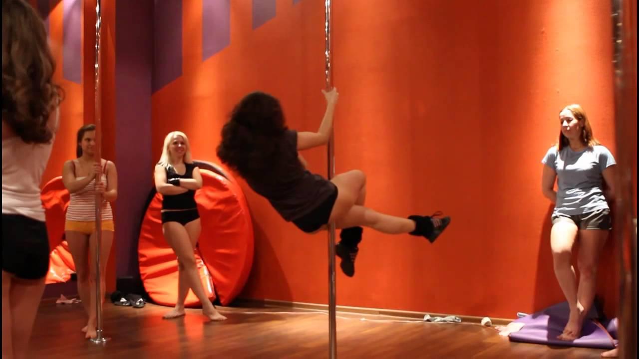 Видеоурок Pole dance ( видео танца на пилоне, танца на шесте). Педагог Валерия Гаттунен.