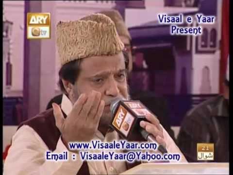 URDU NAAT(Chamak Tujh Se)SIDDIQ ISMAIL IN QTV.BY  Naat E Habib