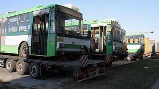 До Житомира з Чехії прибули перші тролейбуси