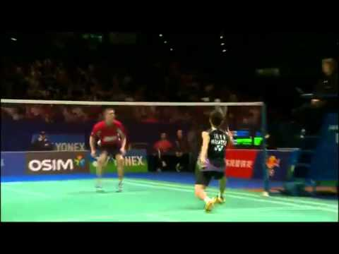 Craziest Badminton Dive Ever!