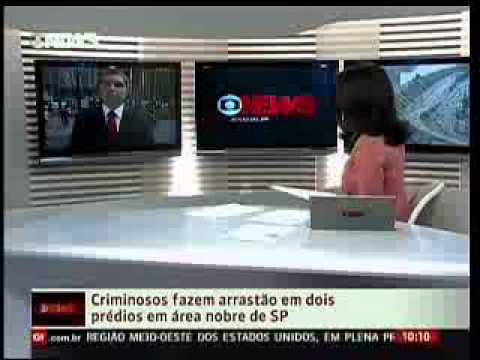 25/3/13 - Segurana em condomnios - Globo News  Edio das 10