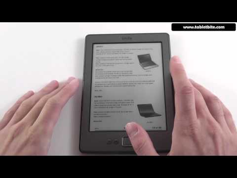 Kindle 4 Review - 4th generation Amazon Kindle 2011 review and test