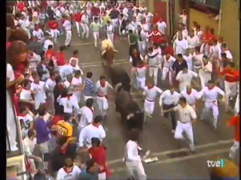 Encierro de San Fermín   8 de julio de 1999 480p