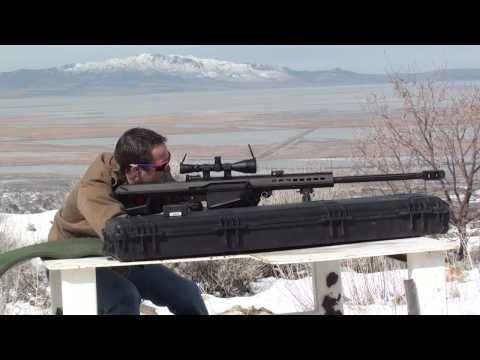 Barrett 50 Caliber High Definition, Vapor Trails, Slo-mo!