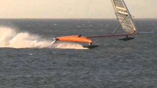 World speed sailing Record
