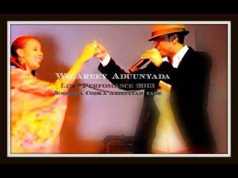 Abdifatah Yare 2013 yaa wardheer kuso bara? Live Performance Habeenkii Ciida London