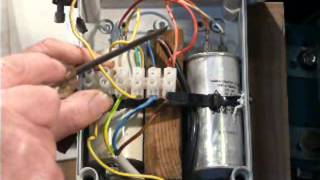 How to do it 3 phase motor conversion part 4 the start capacitor how to do it 3 phase motor conversion part 4 the start capacitor youtube publicscrutiny Image collections