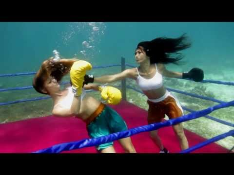 Angie Vu Ha - Underwater Boxing Sizzle.