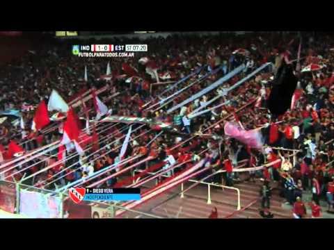 Gol de Vera. Independiente 1 - Estudiantes 0. Fecha 22. Primera División 2015.