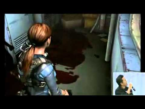 Resident Evil: Revelations - Gameplay Nintendo 3DS Nintendo World 2011 Direct Feed