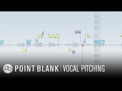 Cubase 6 Tutorial - Vari Audio Vocal Re-pitching