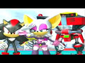 Sonic Heroes - Team Dark Cutscenes