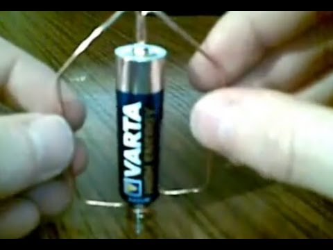The simplest motor in the world by Igor, How to build a simple electric motor